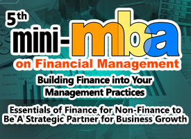5TH MINI MBA ON FINANCIAL MANAGEMENT