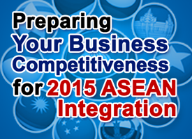 PREPARING YOUR BUSINESS COMPETITIVENESS FOR 2015 ASEAN INTERGRATION