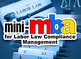 MINI MBA FOR LABOR LAW COMPLIANCE