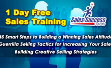 1-Day FREE Sales Training