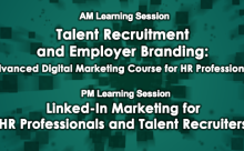 Talent Recruitment and Employer Branding / Linked-In Marketing for HR Professionals and Talent Recruiters