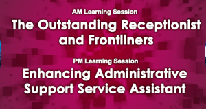 The Outstanding Receptionist and Frontliners / Enhancing Administrative Support Service Assistant